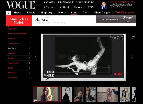 ANNA ZANOVELLO NEW FACEBLOG ITALIAN VOGUE copy